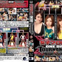 SPU-06 Female Pro-wrestling Oneday Tournament 6 Shihori Yuino, Mona Natsuki, Erika Kashiwagi, Nao Aijima