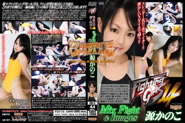 FGV-73 Fighting Girls 14 Mix Fight & Image Kanoko Minamoto