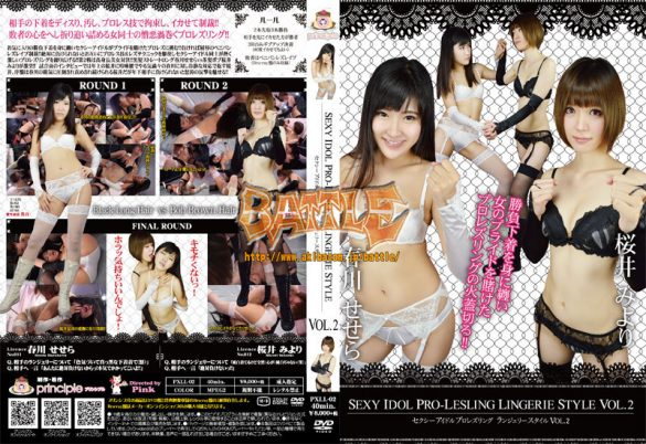 PXLL-02 Sexy idol pro-lestring lingerie style Vol.2
