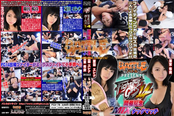 FGV-78 Fighting Girls 14 Commemorative Mix tag match, Erena Natsume & Sakura Shinomiya