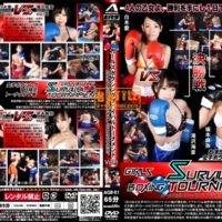 AGB-01 Girl's Boxing Survival Tournament Vol.1 Shiraki, Takizawa Mio, Kozakura Riku, Sakamoto Maya