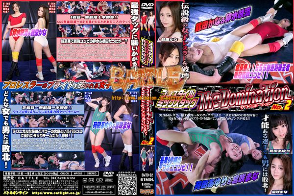 BMTD-02 Pro-style Mix Tag The Domination No.2