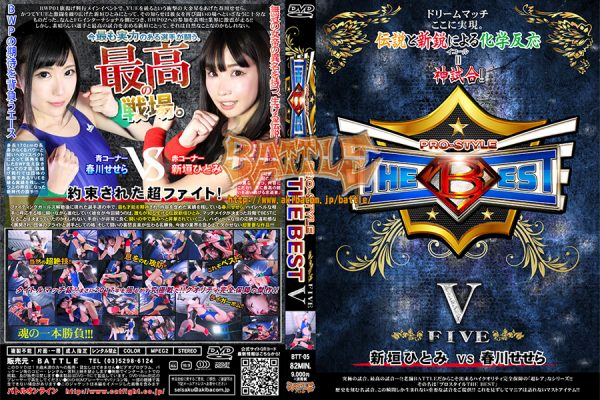 BTT-05 PRO-STYLE THE BEST V Sesera Harukawa, Hitomi Aragaki
