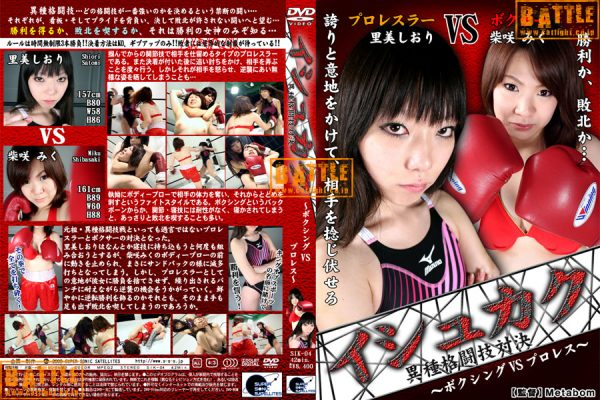 SIK-04 MIXED FIGHT 4 Satomi Shori, Shibasaki Miku