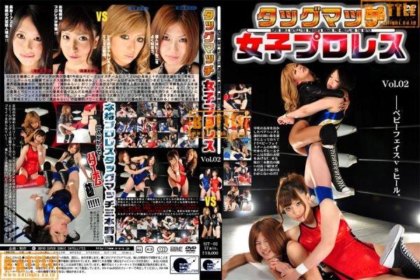 SJT-02 Tag Match Female Pro-Wrestling Vol.02 Hayasaki Miku, Nishizawa Ayumi, Kitano Kana, Urata Mirai
